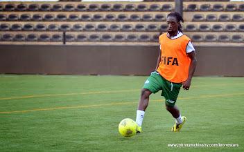 Photo: Ibrahim Kallay   [Training camp ahead of Leone Stars v DR Congo on 10 September 2014 (Pic © Darren McKinstry / www.johnnymckinstry.com)]