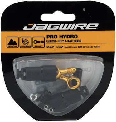 Jagwire Pro SRAM Level Ultimate, Level TLM Disc Hydraulic Quick-Fit Adapters alternate image 0