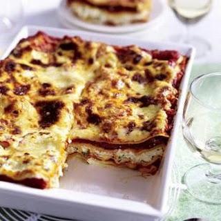 Vegetarische Kräuter-Lasagne