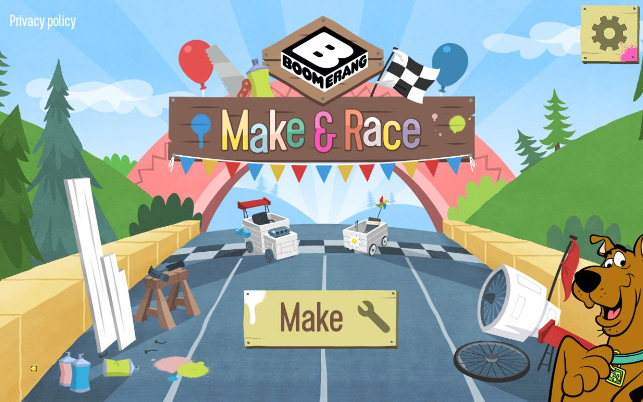 Boomerang Make and Race- screenshot