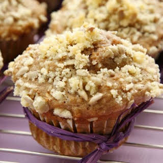 Crumble Topped Apple Cakes.