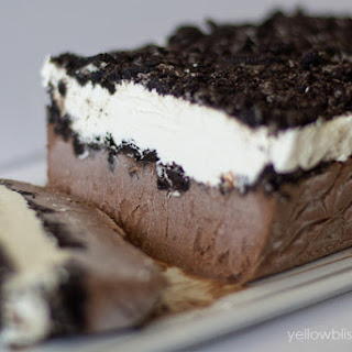 Frozen Oreo Pudding Cake.
