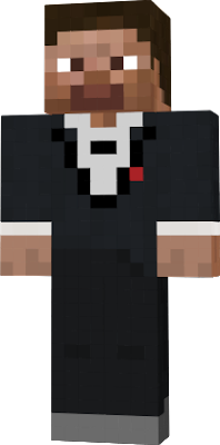 Tuxedo Steve from the Xbox One edition of Minecraft.