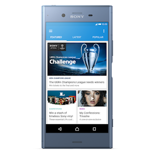 Xperia Lounge (entertainment)- screenshot thumbnail