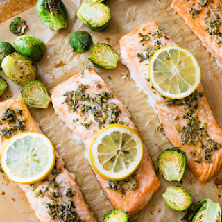 Baked Lemon Herb Salmon