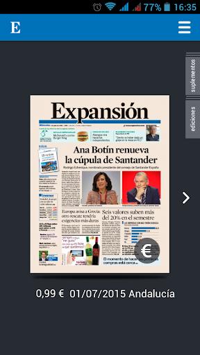 Expansión Edición Impresa