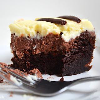Triple Chocolate Mousse Cake.