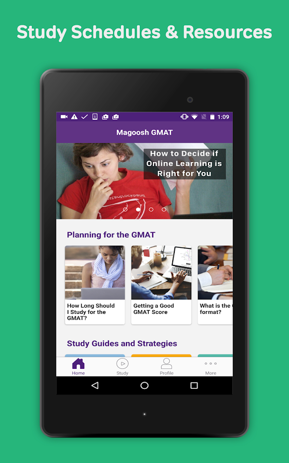 Magoosh GMAT Prep & Practice- screenshot