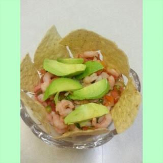 Margarita Shrimp Salad