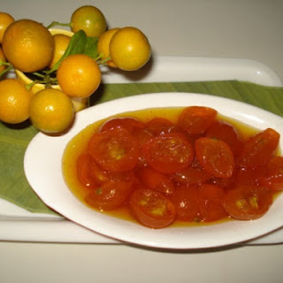China orange instant pickle(Narungi ka khatta –meetha achar)