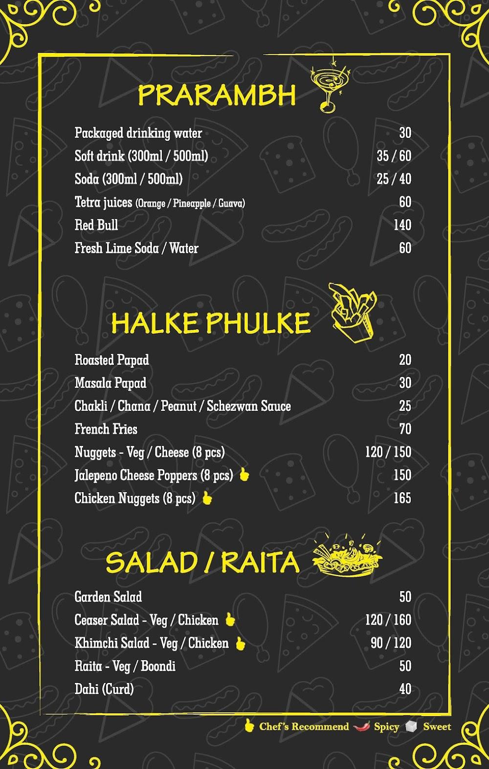 Mumbai Palate menu 5