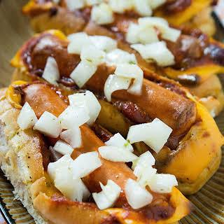 Magic Chili Cheese Dog Boats!.