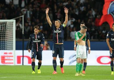 Le PSG revient à la hauteur de Marseille