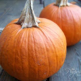 Pumpkin Pie Casserole.