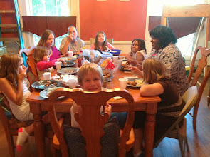 Photo: Visiting Lorraine and having dinner with her and her family. Awesome!  Lorraine is a genealogy buddy of mine w/ family roots in the same area as my maternal grandmother.
