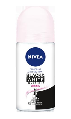 desodorante rollon nivea women black and white 50ml