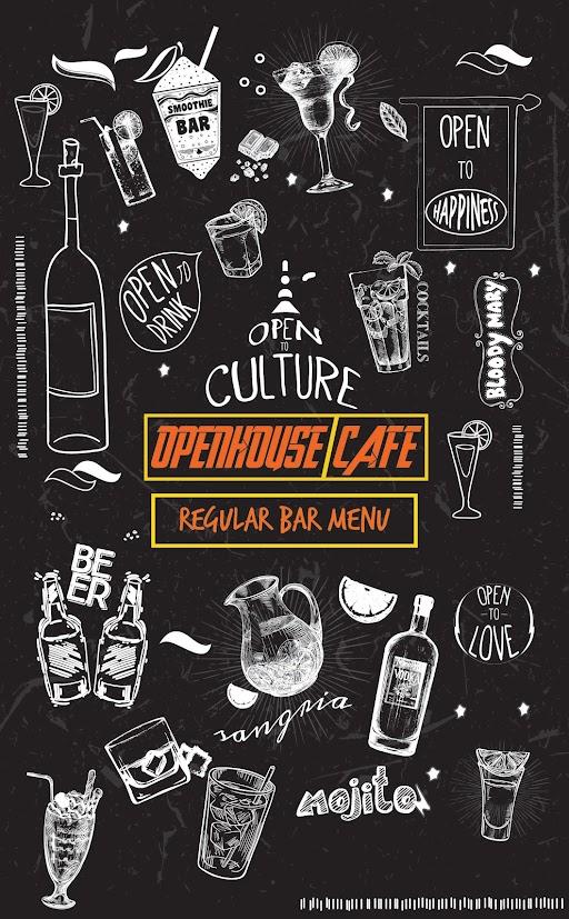 Open House menu 1