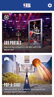 NBA AR Screenshot