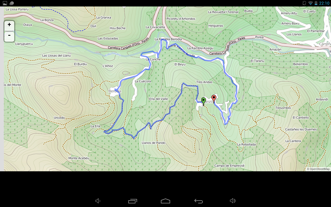 Rutas MTB- screenshot