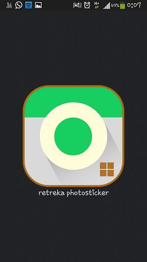 Ret Rika Photosticker