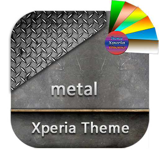 metal | Xperia™ Theme app for Android