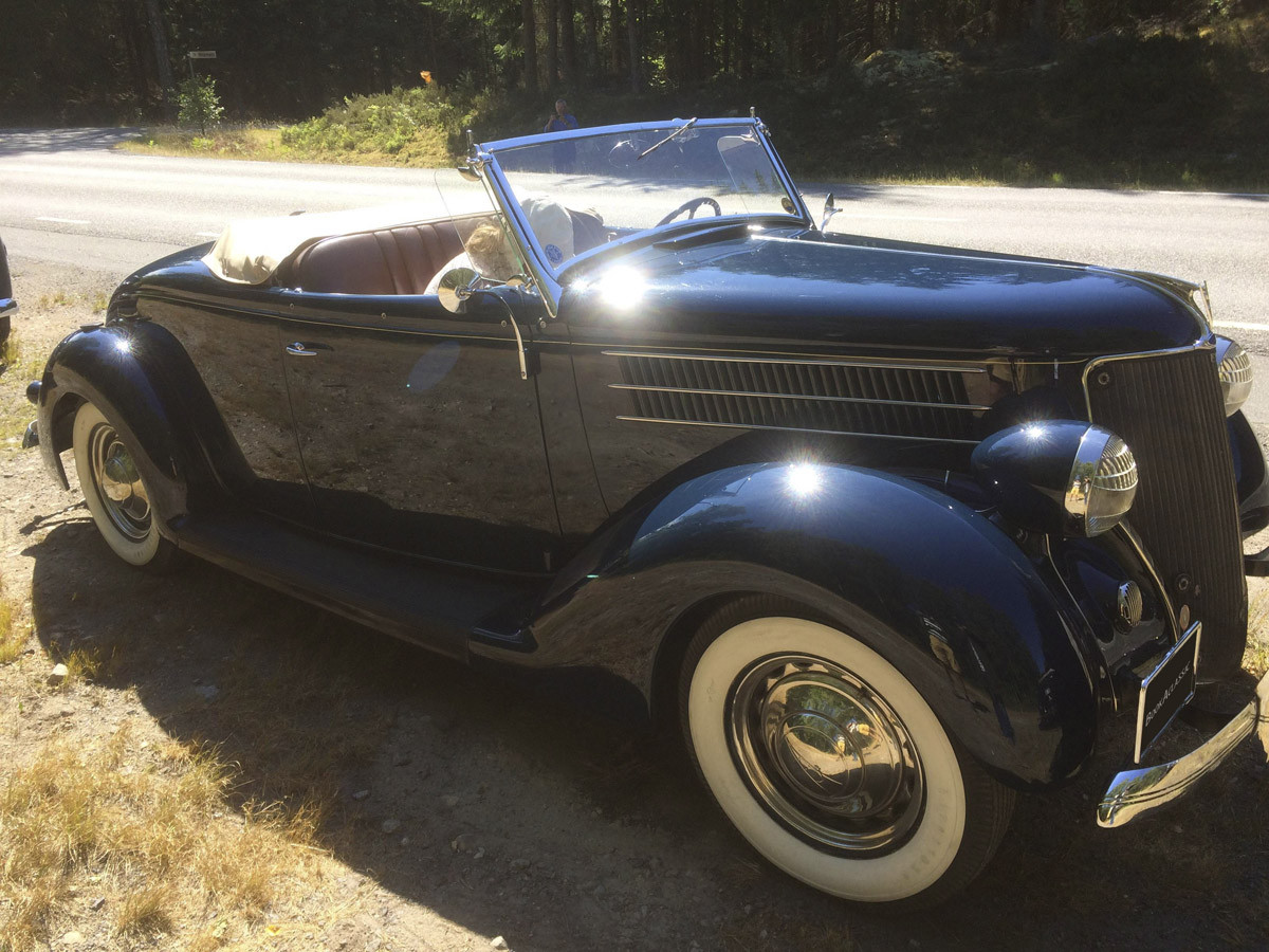 Ford Roadster Hire Huddinge