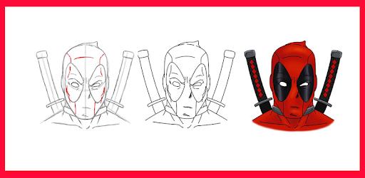 Descargar How To Draw Deadpool Para Pc Gratis última Versión Com Drawingtutorials Deadpool