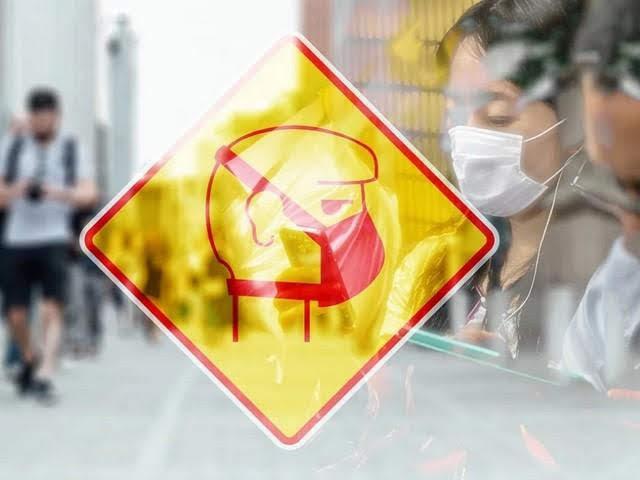 znak zastitne maske