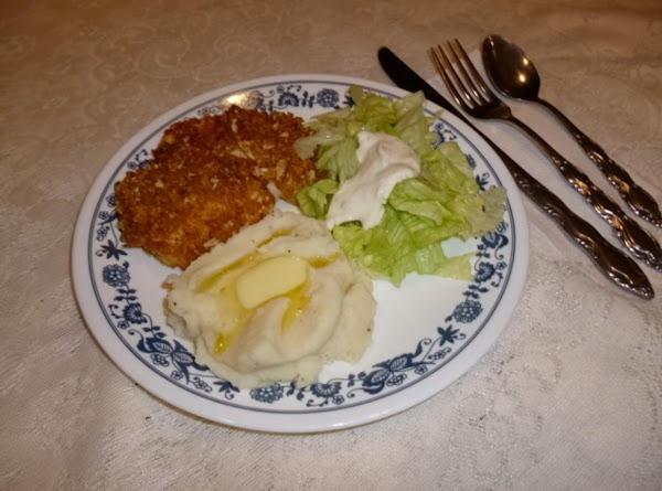 Golden Oven Fried Chicken Recipe