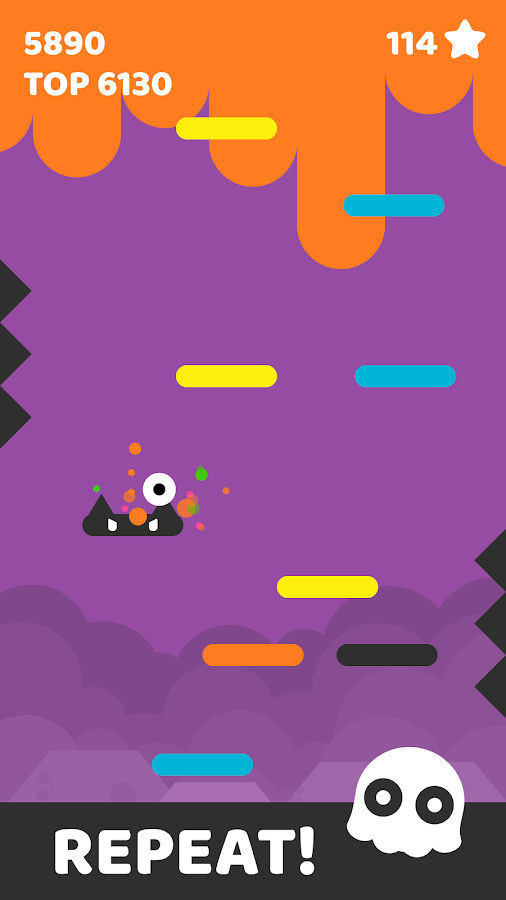 Jelly Jump: Happy Colors- screenshot
