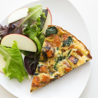 Sweet Potato & Spinach Frittata