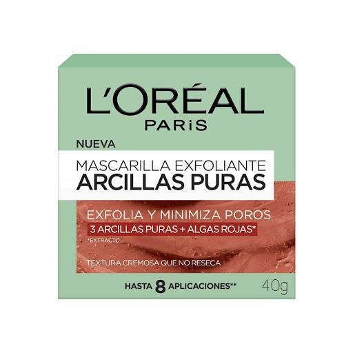 mascarilla facial loreal exfoliante 40gr