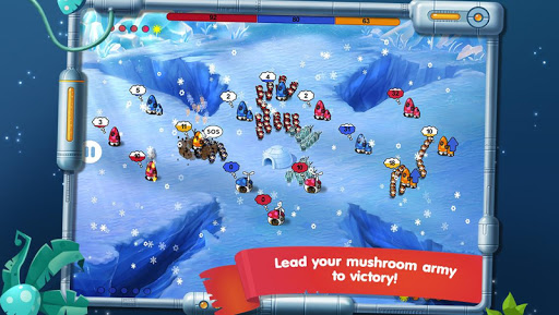 Mushroom Wars: Space! - screenshot
