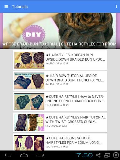 Hair - Hairstyles - Updos