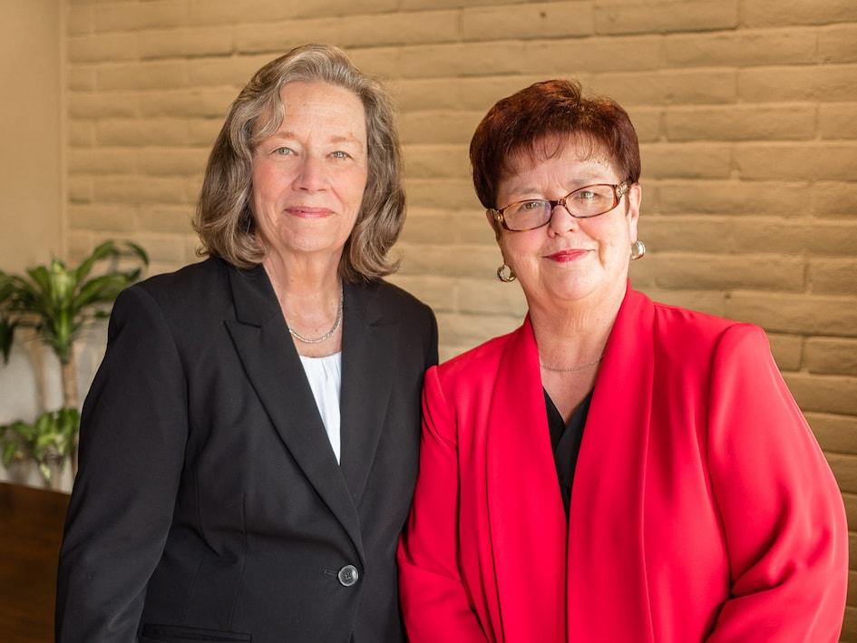Lorraine Beaman and Susan Mason of Interview2Work career counseling