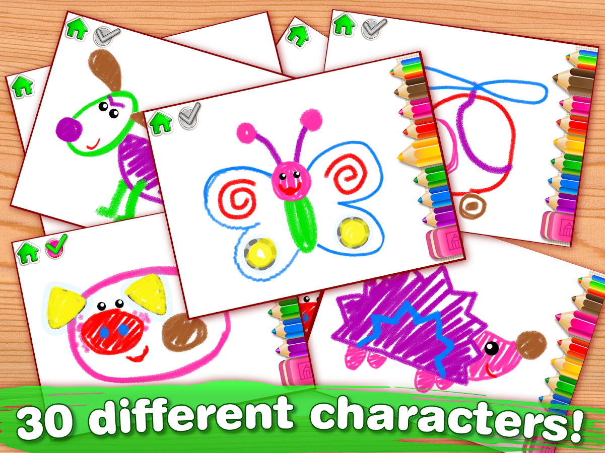 Drawing for Kids Learning Games for Toddlers age 2- screenshot