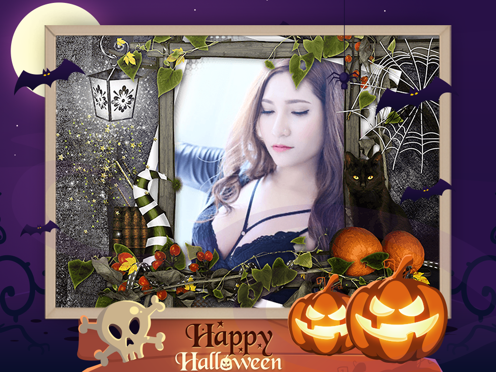 Halloween photo frame android apps on google play halloween photo frame screenshot jeuxipadfo Choice Image