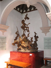 Photo: Another don Quijote statue in the museum.
