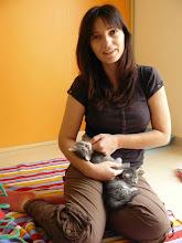 Photo: Qitarah, Quían y su mami humana ;P