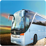 Bus 3D Hill Driving Icon