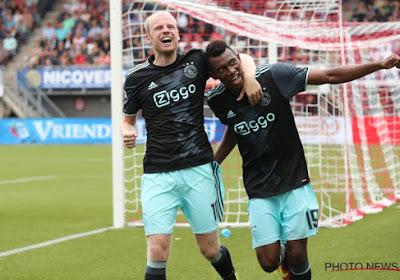 Eredivisie : l'Ajax s'impose tranquillement à Heracles