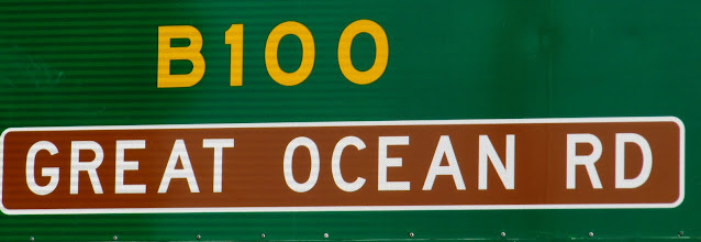 Photo: Year 2 Day 143 -  Start of the Great Ocean Road