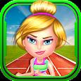 Gymnastic Girl Athlete Sports