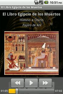 Libro Egipcio de los Muertos - screenshot thumbnail