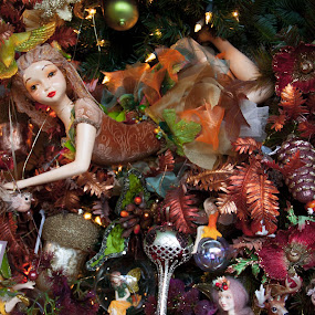 its a doll tree by Franky Vanlerberghe - Public Holidays Christmas ( christmas decoration, doll, tree, christmas,  )