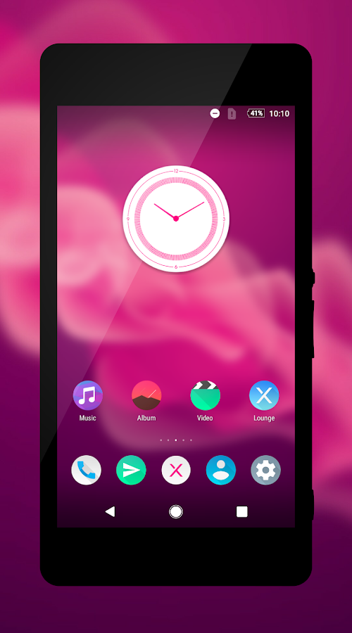 Pixel Pink Theme- screenshot