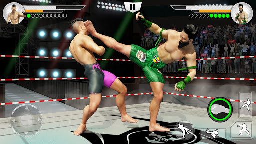 Muay Thai Fighting Clash: kick Boxing origin 2018 1.0.2 screenshots 1