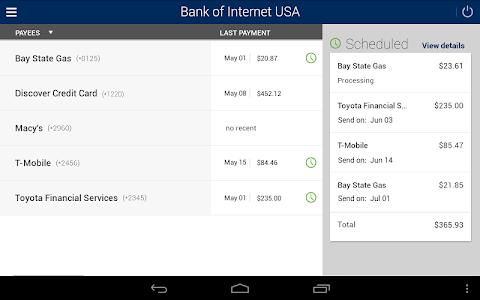 Bank of Internet Mobile App screenshot 8
