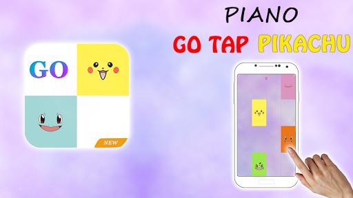 Piano pikachu 鋼琴皮卡丘 - 不要點擊瓷磚
