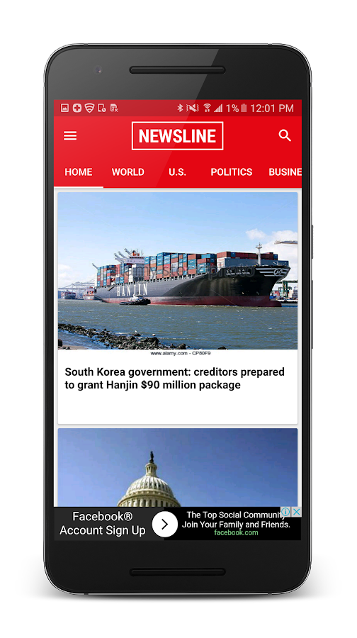 Newsline – Daily Breaking News- screenshot